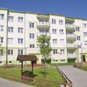 Budynek zlokalizowany przy ulicy Wojska Polskiego 48C